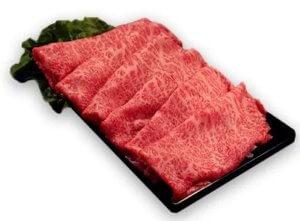 佐賀牛A5しゃぶしゃぶすき焼き用【厳選部位】(ロース肉・モモ肉・ウデ肉)400g イメージ