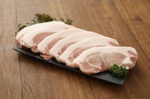九州産 豚ロース肉 トンカツ・トンテキ用【600g(1枚約100g)】 寄附金額5,000円 イメージ
