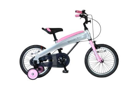 メルセデス・ベンツ 16型子供用自転車 MB‐16 色:ライトピンク イメージ