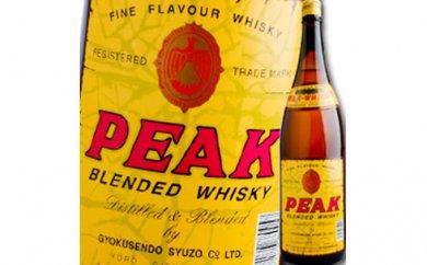 地ウィスキー PEAK 1.8L 1本 寄附金額10,000円 イメージ