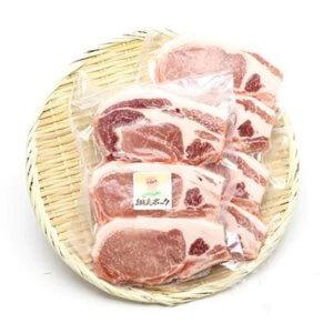 「肉のまるゆう」の「極上!四元豚 網走ポーク」ロース 750g 寄附金額10,000円 イメージ