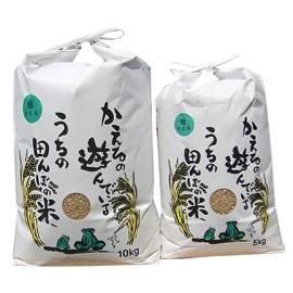 ひなた村の夢しずく玄米10kg&5kg 寄付金額10,000円(佐賀県江北町)
