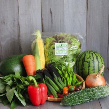 まつの幸せ野菜BOX~プレミアム富士山玉手箱~(S) 寄付金額10,000円(山梨県富士吉田市)