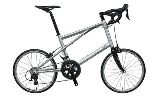 NAGI BIKE NS451-HE<スプラッシュ・シルバー>