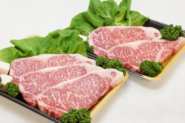 【720牧場グループ牛】 ロースステーキ(180g×5枚) 寄附金額30,000円 (宮崎県えびの市)