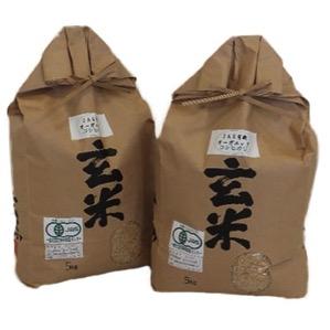 低農薬100%有機肥料コシヒカリ 玄米5kg 寄付金額10,000円(滋賀県長浜市)