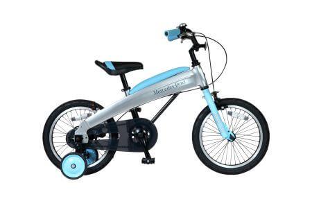 メルセデス・ベンツ 16型子供用自転車 MB‐16 色:ライトブルー イメージ