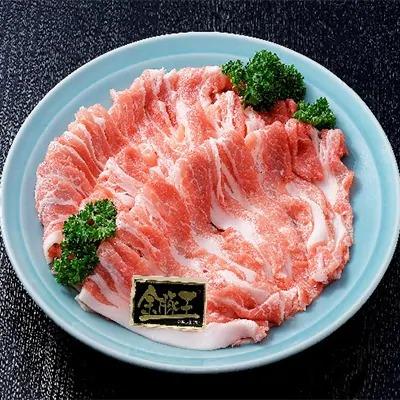 金豚王肩焼肉用約450g 寄附金額5,000円 (静岡県吉田町)