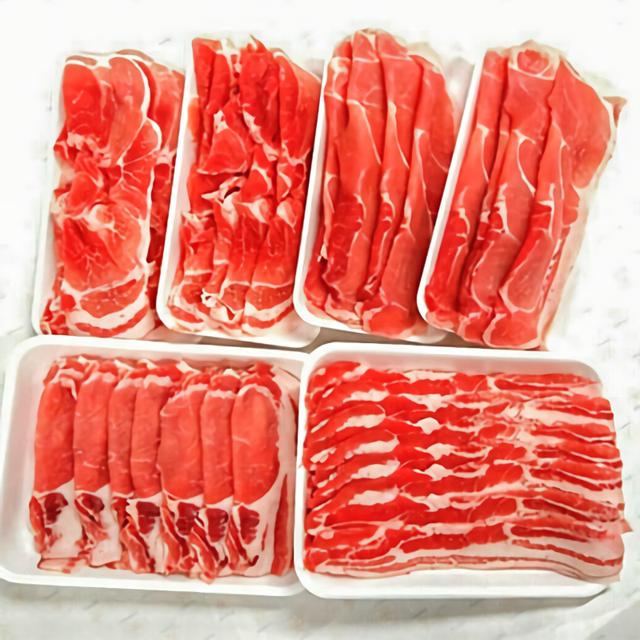 北海道産熟成豚肉大盛セット約2.6kg 寄附金額10,000円 (北海道森町)