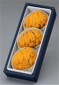ウニの貝焼き(3個入り) 寄付金額24,000円 (福島県いわき市) イメージ