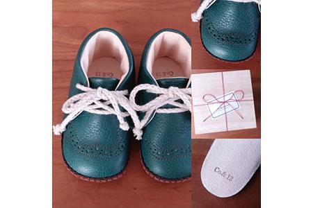 Co.&Kokorone工房・赤ちゃん靴(ファーストシューズ)寄付金額80,000円(長野県伊那市)
