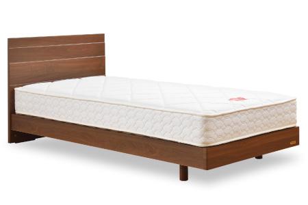 安心の日本製ベッド「メモリーナ MH030(フレーム&マットレス)」 シングル 寄付金額20万円(佐賀県上峰町)