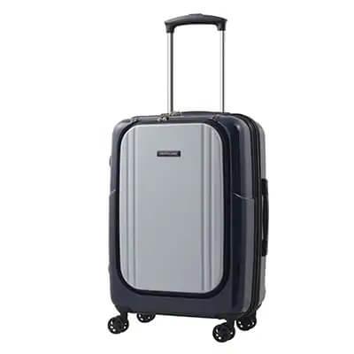 スーツケースAP7351(ワラビー)Sサイズ ネイビー×グレー イメージ