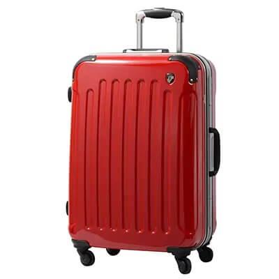 スーツケースPC7000 Mサイズ ロイヤルレッド 寄付金額25,000円 イメージ