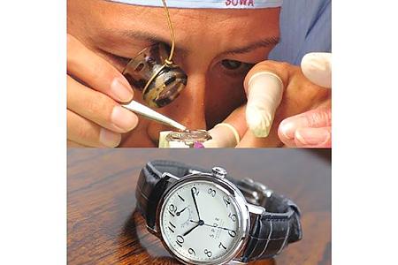 SPQR 機械式時計 組立体験B 寄附金額800,000円(長野県下諏訪町)