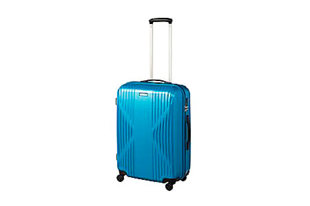 日本製スーツケース ワールドトラベラー・クリアウォーター ブルー 寄付金額90,000円(神奈川県開成町) イメージ