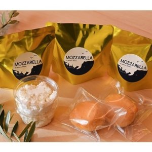 福井県産生乳使用 モッツァレッラチーズセット