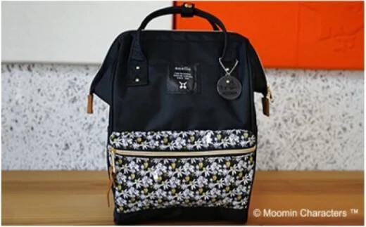 Moomin×anello コラボレーションリュック(ブラック) イメージ