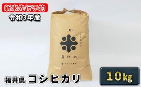 【令和3年産】福井県若狭町コシヒカリ(一等米)10kg(たごころ農園)