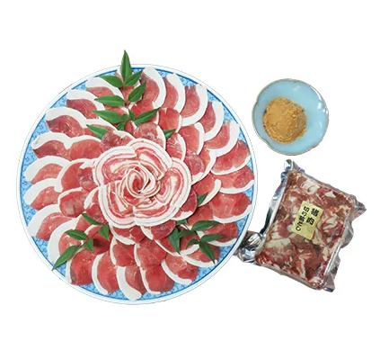猪肉三昧セット800g 寄附金額20,000円(大阪府豊能町)