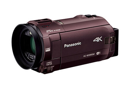 Panasonic HC-WX995M ビデオカメラ 寄附金額200,000円 イメージ