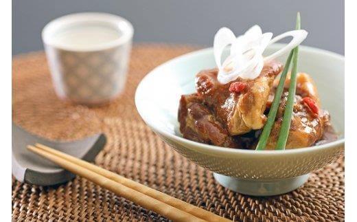 鹿児島県産豚カシラ肉の角煮セット