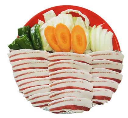 〔猪肉スライス〕詰合せ 1.2kg 寄附金額10,000円(佐賀県唐津市)