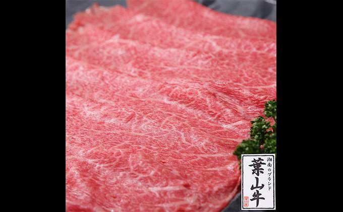 冨士屋牛肉店がお届けする【葉山牛】黒毛和牛しゃぶしゃぶ500g
