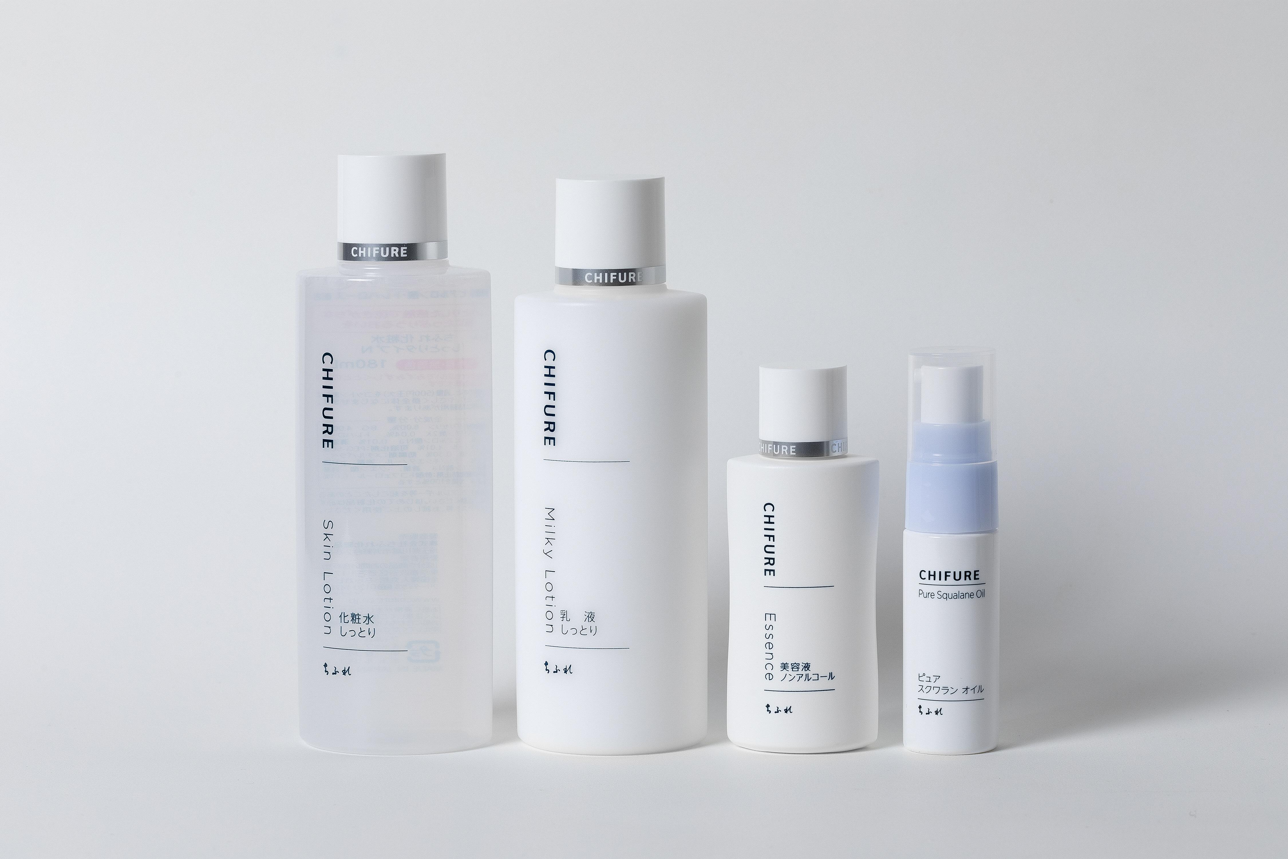 ちふれ 保湿スキンケア4品セットK / 化粧水 乳液 美容液 スクワランオイル
