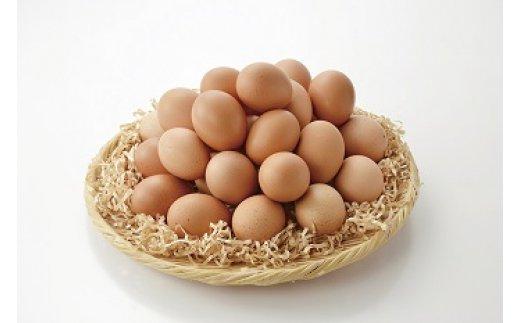 秋川牧園の卵30玉セット