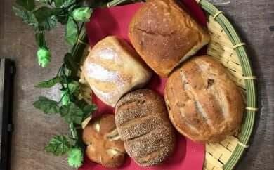 ホップ天然酵母パンと人気パンセット(冷凍品)