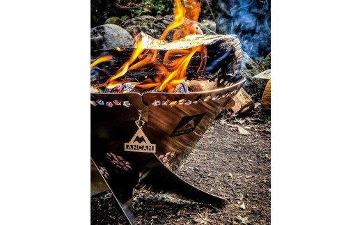 ANCAM(アナキャン) 組立式焚き火台「FIRE WHIRL」Mサイズ