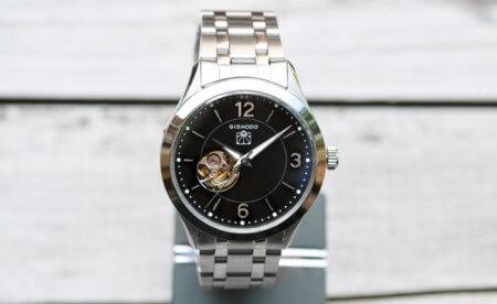 <腕時計> 儀象堂オリジナル機械式腕時計 G2017 寄附金額200,000円(長野県下諏訪町)