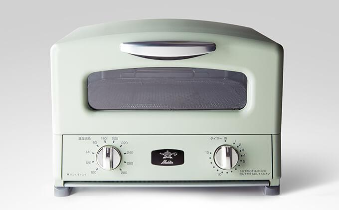 グラファイトグリル&トースター(グリーン) イメージ