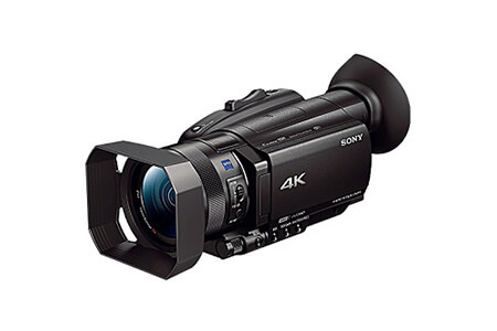 ソニーデジタル4Kビデオカメラ レコーダーFDR-AX100 寄附金額440,000円(宮城県多賀城市)