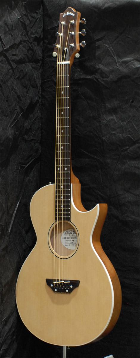 アコースティックギター GrassRoots G-AC-50N(ナイロン弦) NTLS/STBKS 寄附金額105,000円(埼玉県 三芳町)
