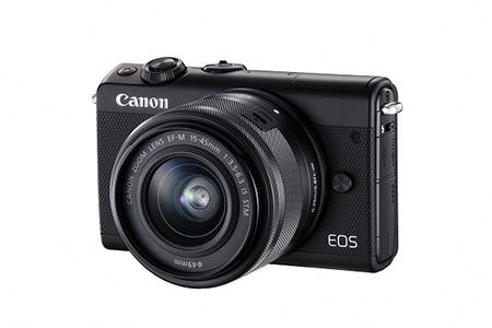 ミラーレスカメラ EOS M100 レンズキット(ブラック)寄附金額210,000円(神奈川県綾瀬市)