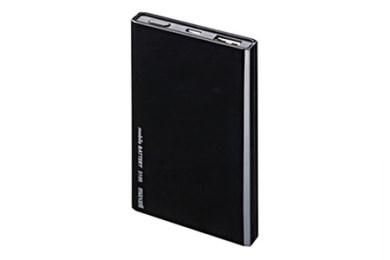 日本製モバイルバッテリーMPC-T3100(BK)ブラック 寄附金額10,000円(京都府大山崎町)