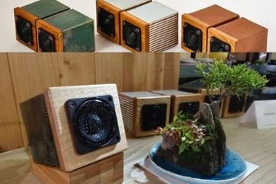 MH audio 超小型モニターオーディオセット 寄付金額350,000円(長野県岡谷市)
