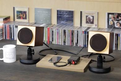 MH audio 小型アコースティックオーディオセット 寄付金額600,000円(長野県岡谷市)