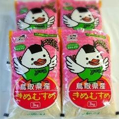 鳥取県産きぬむすめ 寄附金額19,000円(鳥取県鳥取市)