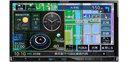 AVナビゲーションシステムMDV-S706+ナビ連携型ドライブレコーダー(フロント用)DRV-N530セット イメージ