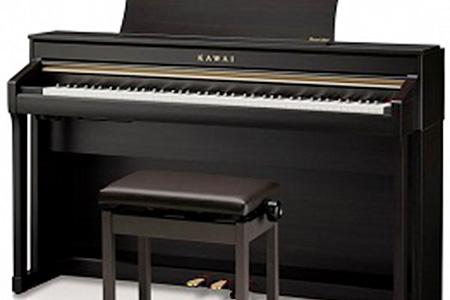 カワイデジタルピアノ(CA78)(プレミアムローズウッド) 寄附金額550,000円(静岡県磐田市)