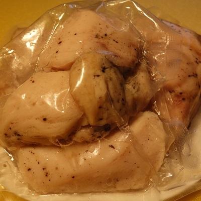 四万十鶏やわらかサラダチキンの黒潮天日塩味1400g 寄附金額5,000円 (高知県黒潮町) イメージ