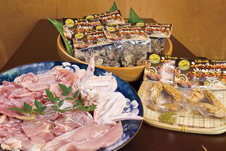 【鶏三昧!!】みやざき地頭鶏プレミアムセット 寄附金額20,000円 (宮崎県都農町) イメージ