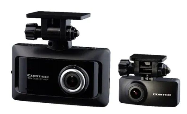 コムテック 前後2カメドライブレコーダー ZDR026