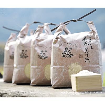 レンゲ米夢つくし20kg(5kg×4袋) 寄附金額30,000円(福岡県香春町)