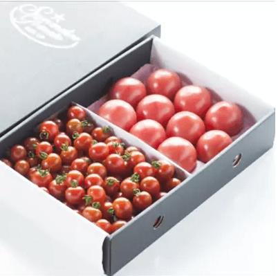 「ソムリエトマト1.3kgとソムリエミニトマト1kgのセット」 寄附金額10,000円(熊本県玉名市) イメージ