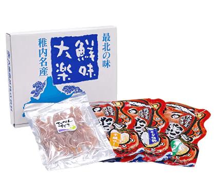 最北珍味セット「たこざんまい」 寄附金額10,000円(北海道稚内市) イメージ