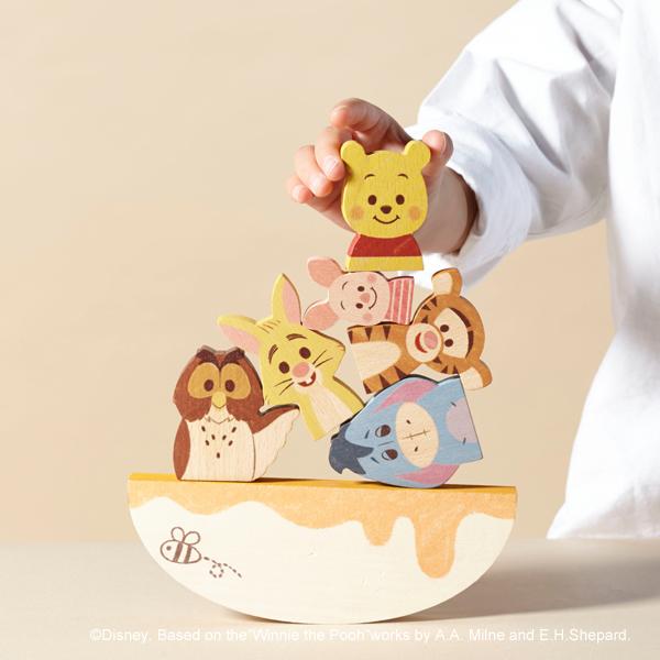 ディズニー キディア BALANCE GAME/くまのプーさんとなかまたち 寄附金額19,000円(福島県 南相馬市) イメージ